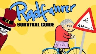 Fahrradfahrer - Tommys seriöse Survival Guides #Satire