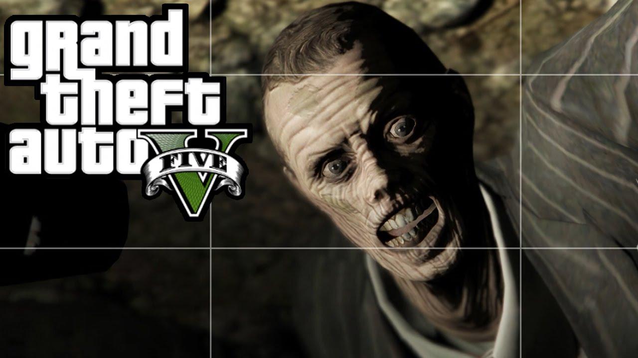 GTA 5 - NEW Dead Body & Secret Mineshaft Now Open! Murder Mystery! (GTA V  Xbox One PS4)