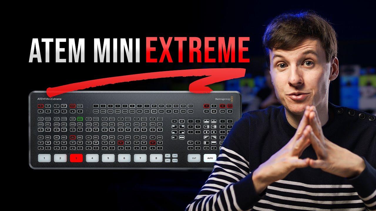 ATEM Mini Extreme - In Depth Review & COMPLETE Tutorial !