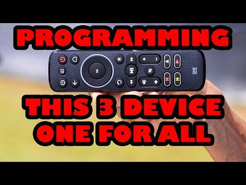 Programming Your One For All Universal Remote Control to ANY Device!