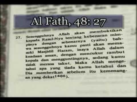 Keajaiban Al Quran (Part. 04 of 14)