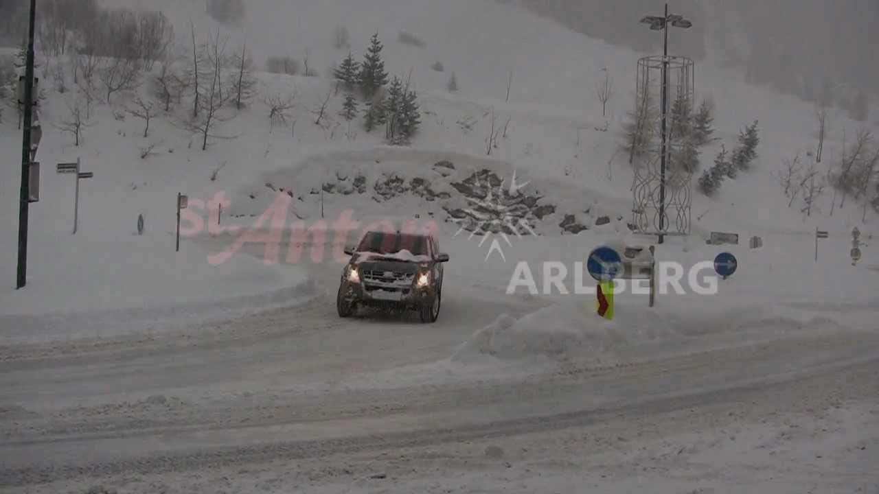 Arlberg Schnee