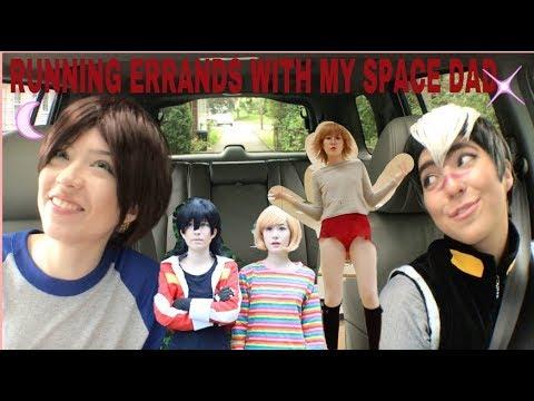 Voltron Cosplay Running Errands With Shiro Cmv Youtube