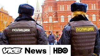 Moscow's War Games & Public Radio Funds  VICE News Tonight Full Episode (HBO)