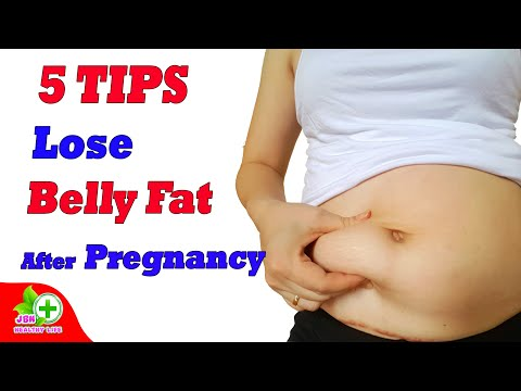 5-simple-and-useful-tips-to-lose-belly-fat-after-pregnancy---exercise-guidelines-after-pregnancy