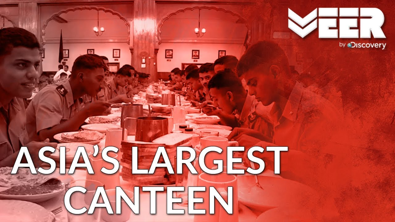 Asia's Largest Canteen at NDA | Indian Military's Did You Know | Veer by Discovery