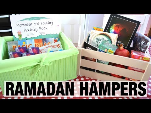 RAMADAN HAMPERS | PREPARING FOR RAMADAN | RAMADAN GIFT IDEAS