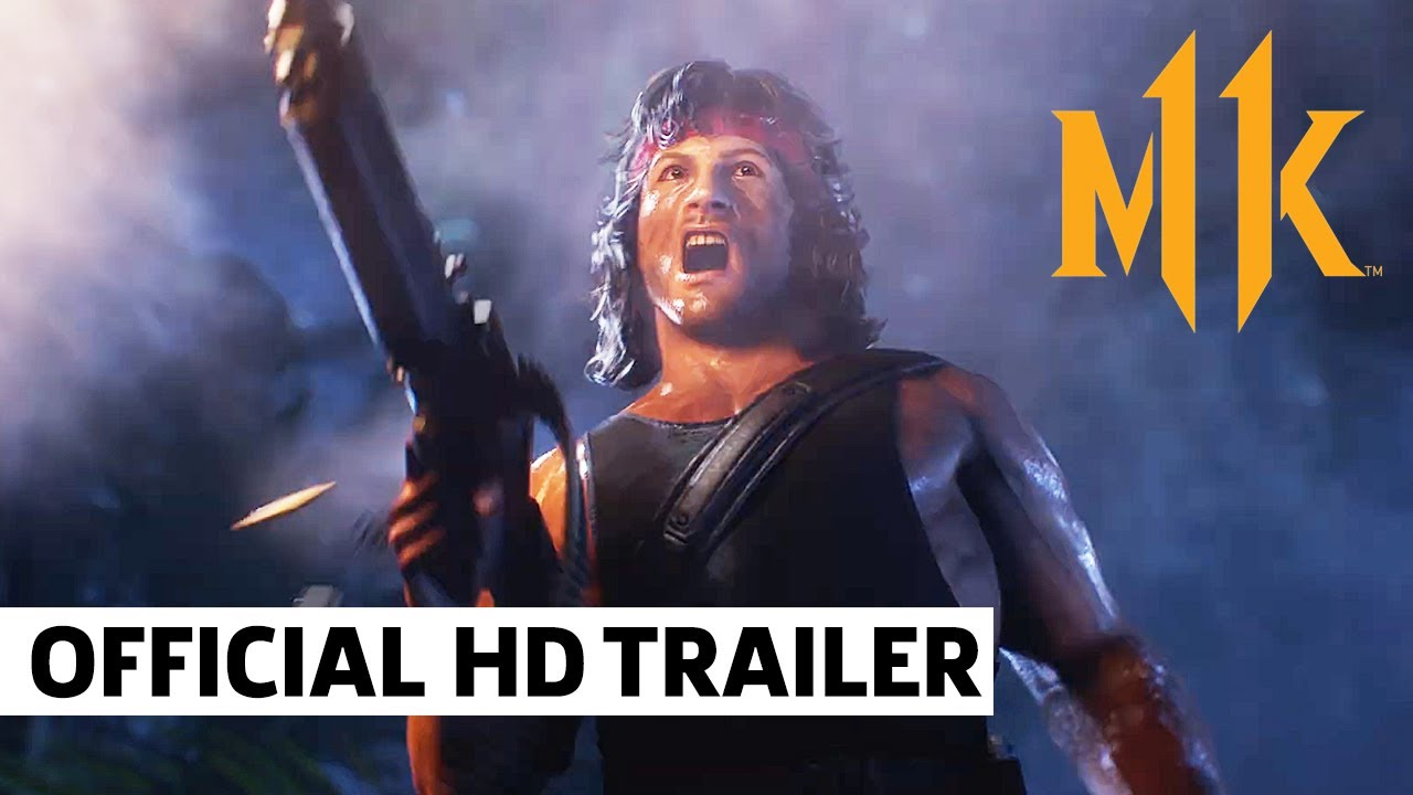 Download Mortal Kombat 11 Ultimate - Kombat Pack 2 Official Reveal Trailer   Rambo, Rain, Mileena