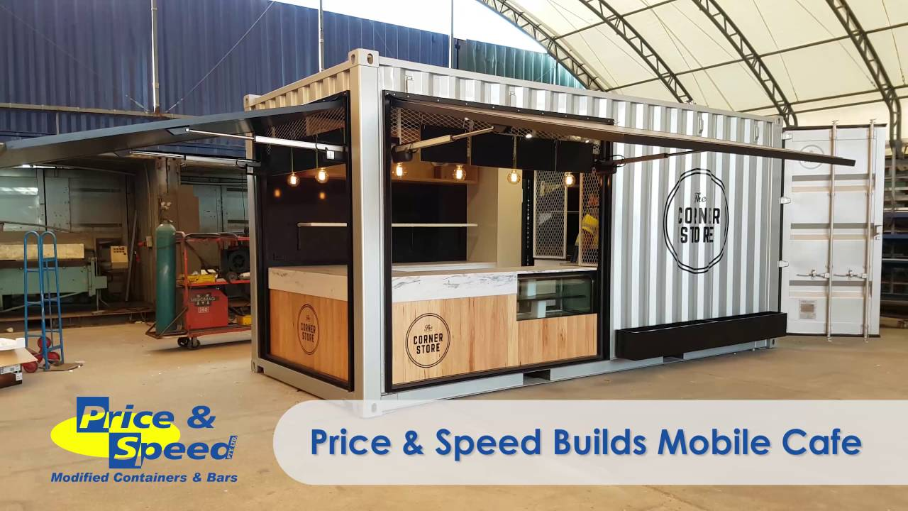 Container Cafe - YouTube