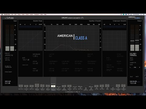Softube American Class A - AES 2018
