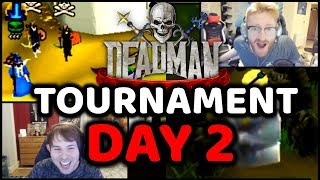 DMM Tournament Streamer Highlights Day 2 OSRS
