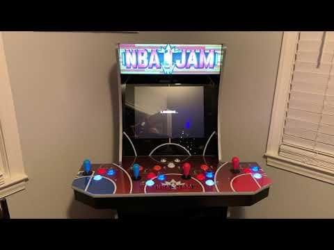 "NBA Jam Arcade1up: Review  🏀""BOOMSHAKALAKA""🏀 from Kenpocalypse"