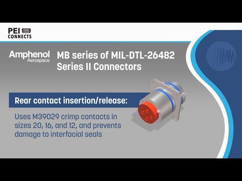 Amphenol MB Series Connectors (26482 Series II) | PEI-Genesis