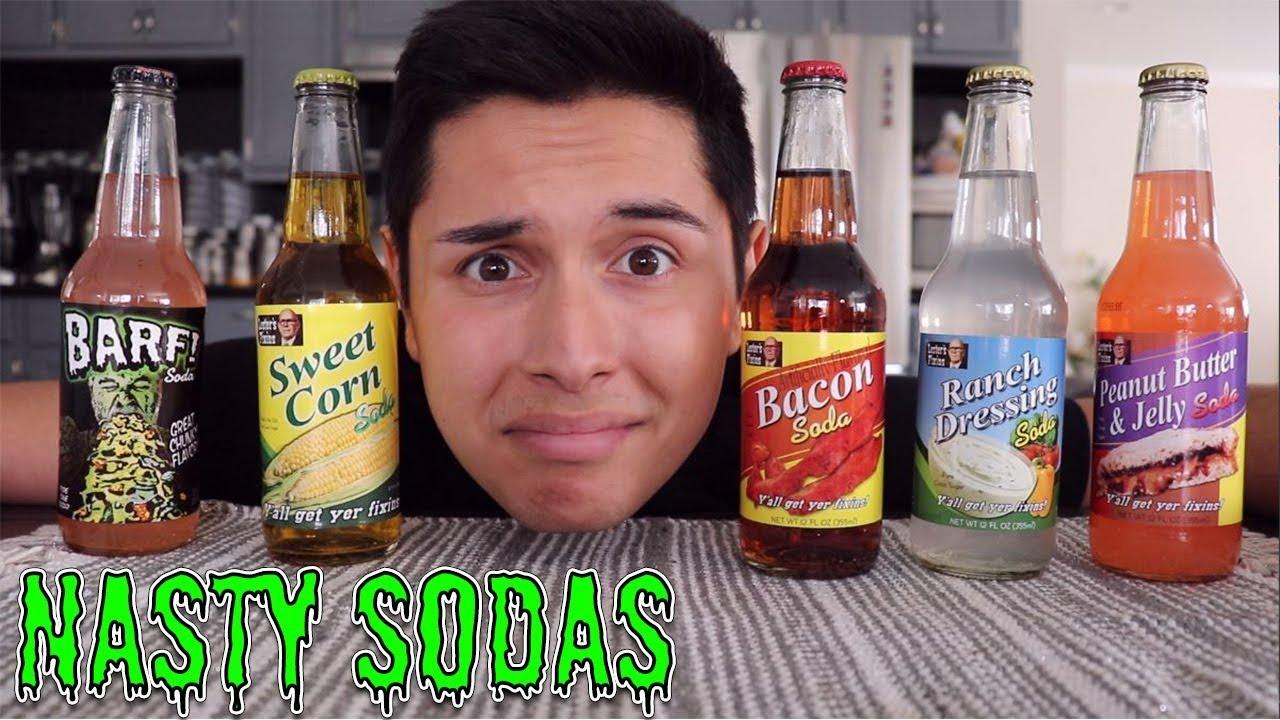 [ASMR] Drinking Nasty Sodas! (Pray for Me)