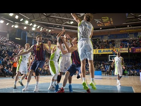 Highlights: FC Barcelona-Unicaja Malaga
