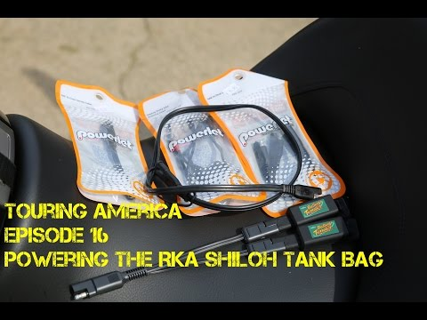 Episode 16 - Getting Electricity to your Motorcycle Tank Bag