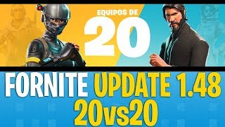 🔷 PARK 1.48 FORTNITE 🔷 (BATTLE ROYALE) PS4 - NEW MODE 20VS20 AND BUG FIXEDS PS4 1080p