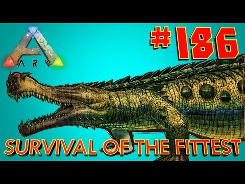 [186] Carnivore Island Adventure! (ARK Survival Of The Fittest SOTF)