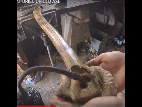 HOW TO RIVIVE THAT DRIED UP OLD AXE