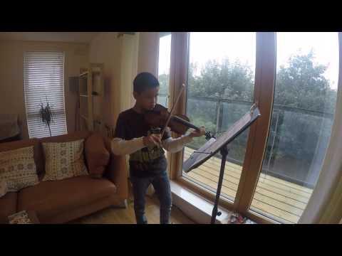 mazurka kevin lin violin