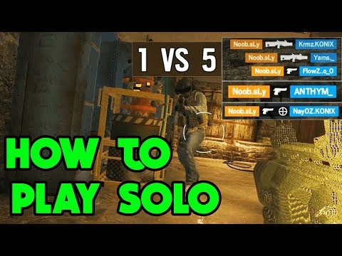 How To Solo Q - Rainbow Six Siege Gameplay