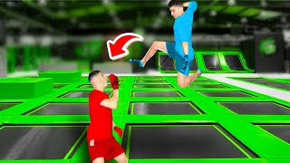 WWE MOVES AT THE TRAMPOLINE PARK 5
