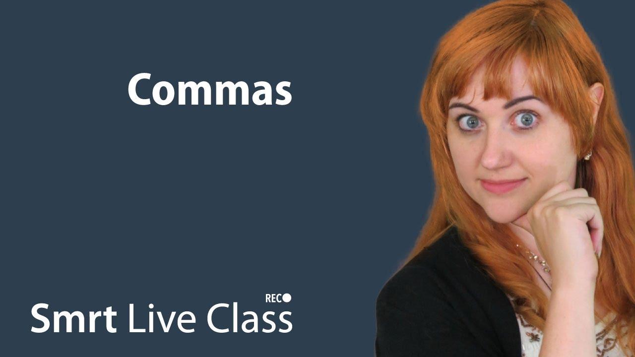 Commas - Pre-Intermediate English with Nicole #29
