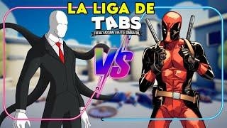 CRAZYS VS SUPERHÉROES - La Liga de TABS | ¿Hacemos SERIE? - TOTALLY ACCURATE BATTLE SIMULATOR