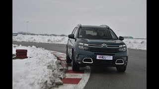 CITROEN C5 AIRCROSS - Test on track NAVAK by SAT TV Show
