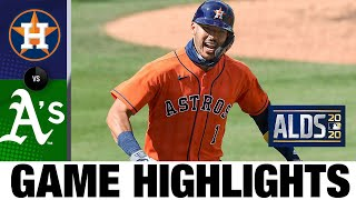 Carlos Correa homers twice in Astros' Game 1 win | Athletics-Astros ALDS Game 1 Highlights