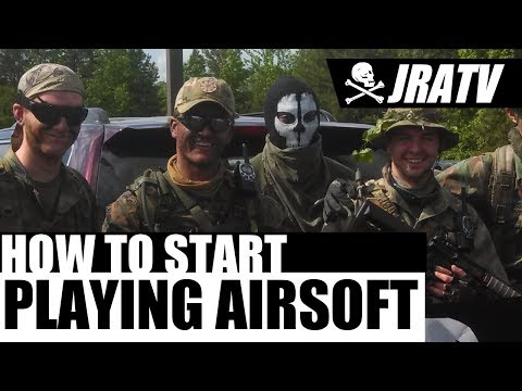 How to Start Playing Airsoft - Jolly Roger Airsoft - Airsoft Beginners Guide
