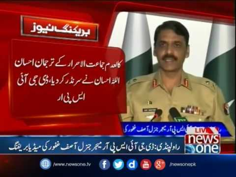 Q & A session in DG ISPR briefing on Operation Radd-ul-Fasaad