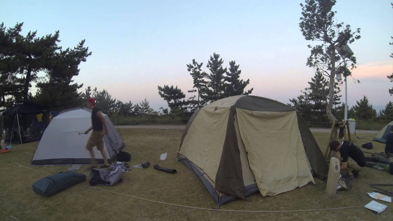 Download Beautiful Japan - Time-lapse of pitching tents