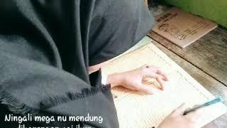 Lelah Dilanda Rindu (LDR)-Syairan santri salafi-Cover Neng lala