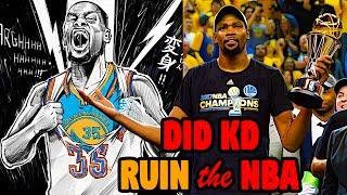 Why Kevin Durant Didn't Ruin the NBA.
