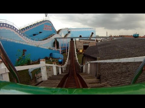 Roller Coaster front seat on-ride HD POV Great Yarmouth Pleasure Beach