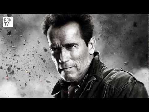 The Expendables 2 Cast Interview -  Schwarzenegger, Stallone, Statham, Lundgren & Van Damme