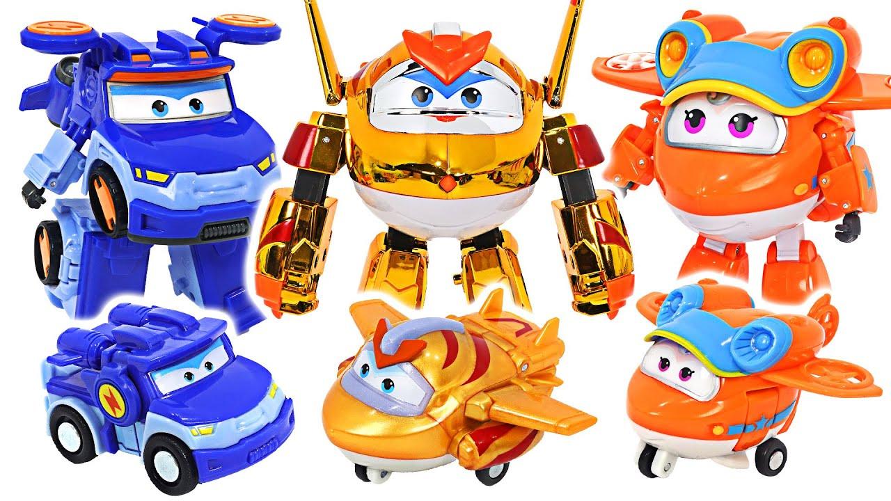 Download Super Wings season 5 transform robots Sunny, Leo, Golden Boy appeared! | DuDuPopTOY