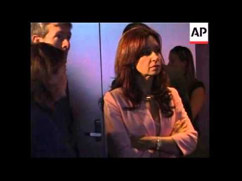 First Lady of Argentina visits Museum of Tolerance