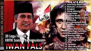 Gambar cover IWAN FALS - 20 Lagu KRITIK Sosial & Kemanusiaan Untuk INDONESIA #AKU INDONESIA