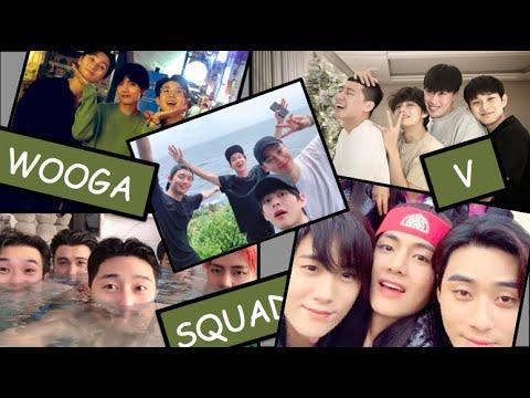 BTS V + The Wooga Squad 💜
