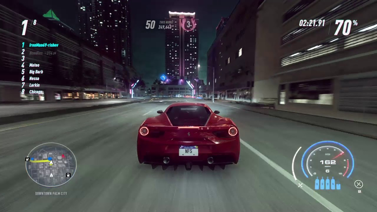 Need For Speed™ Heat 1 Million REP In One Night Ft