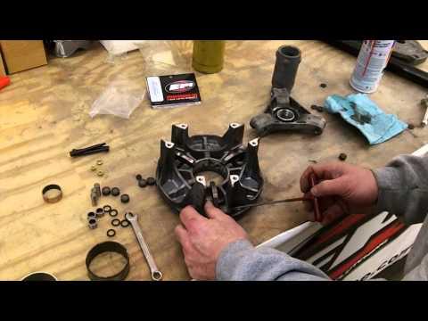 Polaris ATV/UTV Primary Clutch Rebuild