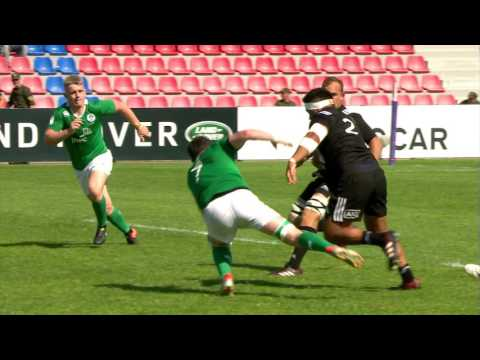 U20 Highlights: New Zealand dazzle Ireland in Georgia