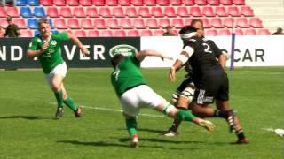 U20 Highlights: New Zealand dazzle Ireland in Georgia