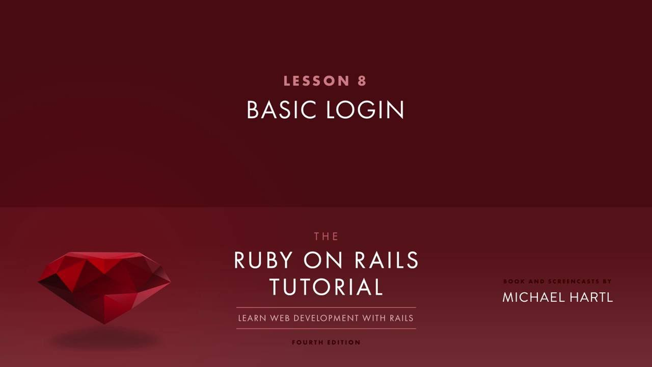 Ruby on rails tutorial full sample lesson rails 5 youtube ruby on rails tutorial full sample lesson rails 5 baditri Images