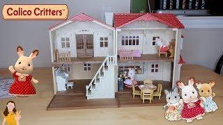 Calico Critters Red Roof Country Home Giftset Review | Kelli Maple