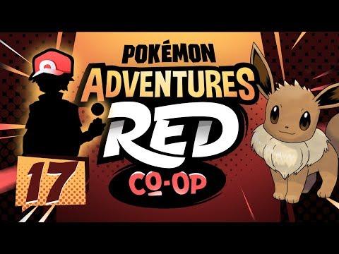 """EEVEE THE AVATAR??"" Pokémon Adventures Red Co-op Ep 17 w/ TheKingNappy + JoeyPokeaim!"