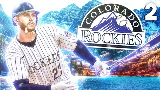 Trevor Story has career day, but i need some trades! MLB The Show 21 Rockies Franchise 2