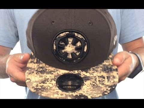 Star Wars  ROGUE ONE EMPIRE SNAPBACK  Brown Hat by New Era - YouTube de3a0814f81a